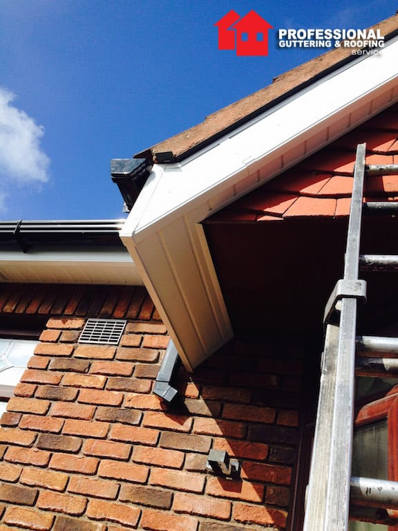 replace soffit fascia board